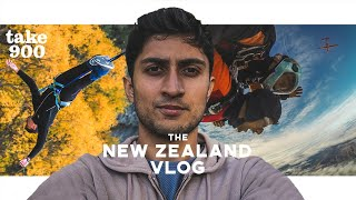 I Jumped Off A Plane In New Zealand! | TAKE 900 Travels