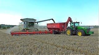 Kombajny Claas Lexion 770 a 600 - Žně / Harvest 2017