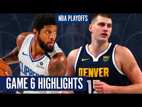 CLIPPERS vs NUGGETS GAME 6 - Full Highlights | 2020 NBA Playoffs