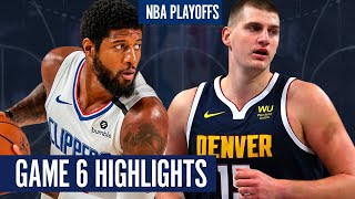 ... the denver nuggets force a game 7 with great win over la clippers on september 13, 2020...