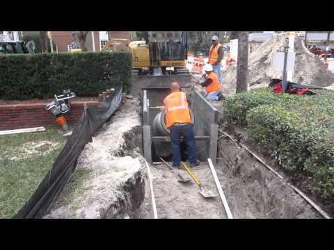 Underground utility repair
