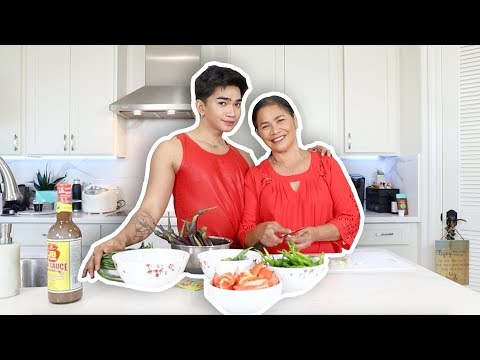 """cooking-with-my-mom!-""""-episode-2-pinakbet"""