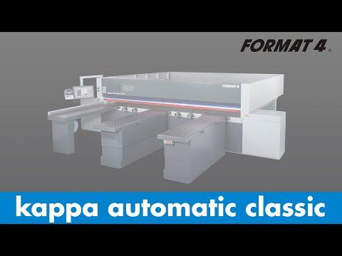 FORMAT-4® - kappa automatic classic - Plattenaufteilsäge (German)