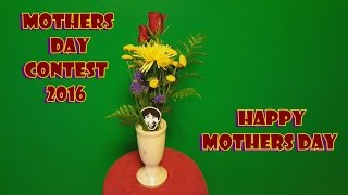mothers day gift vase from star fruit tree wood