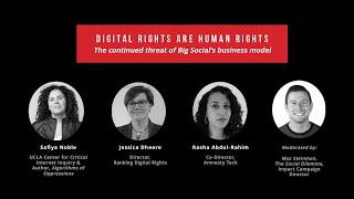 'The Social Dilemma' Virtual Tour: Digital Rights Are Human Rights
