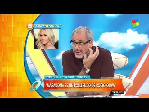 Verónica Ojeda: Lo que hizo Diego Maradona fue para las cámaras