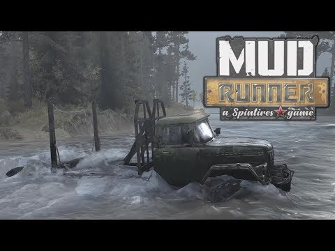 Exploring the Bog and Unlocking Trucks! - Spintires MudRunner Gameplay