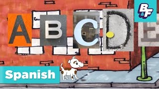 Repeat youtube video Learn the Spanish alphabet and vowels with BASHO & FRIENDS - El Alfabeto