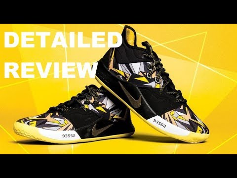 NIKE PG 3 MAMBA MENTALITY KOBE SNEAKER REVIEW LOOK REVIEW #NBA #PAULGEORGE