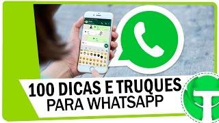 100 Dicas e Truques do WhatsApp que você PRECISA conhecer