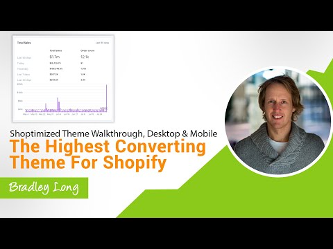 Shoptimized Theme Walkthrough, Desktop & Mobile - The highest converting theme for Shopify