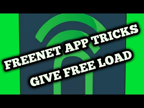 NEW TRENDING FREENET APP TRICKS GIVE FREE LOAD