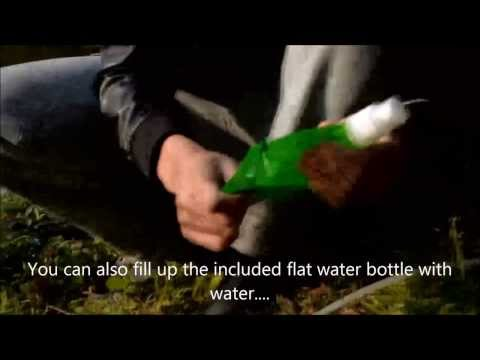H2O Survival Straw-Water filter Straw-Filters out 99.9% Bacteria-Viruses-Heavy Metals!