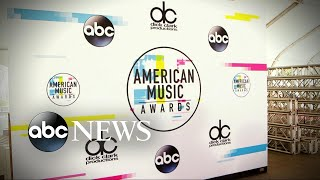 Behind the scenes of the 2017 American Music Awards