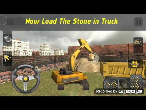 sand excavator truck sim