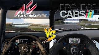 Assetto Corsa vs Project CARS - Qual eu compro?!