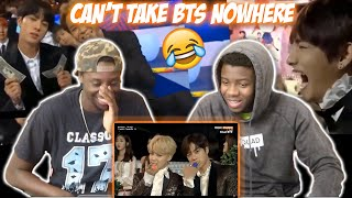 BTS Being Extra At Award Shows (REACTION)