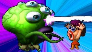 ЗОМБИ ЦУНАМИ Игровой мультик для детей про зомби, веселая детская игра для малышей Zombie Tsunami
