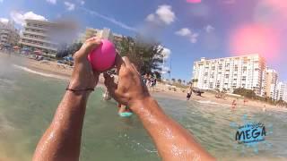 SurfBouncer Ball MEGA Ball Colors Action Shots!