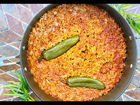 Homemade Mexican Spanish Rice Recipe