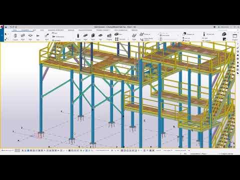 Como funcionan los filtros en Tekla Structures