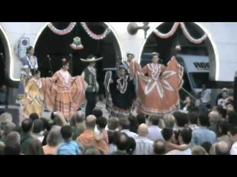 Festa del Grito 2012 MexicoBaila.com | JarabeTapatio - Ballet infantil