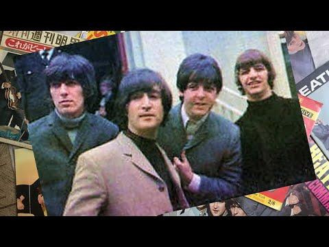 ♫ John Lennon passes his driving test in WEYBRIDGE /The beatles 1965 - photos