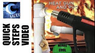 PVC vs HEATGUN –Take Apart Pipes the Easy Way