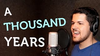 Video A Thousand Years - Christina Perri | Acoustic Cover download MP3, 3GP, MP4, WEBM, AVI, FLV Agustus 2018
