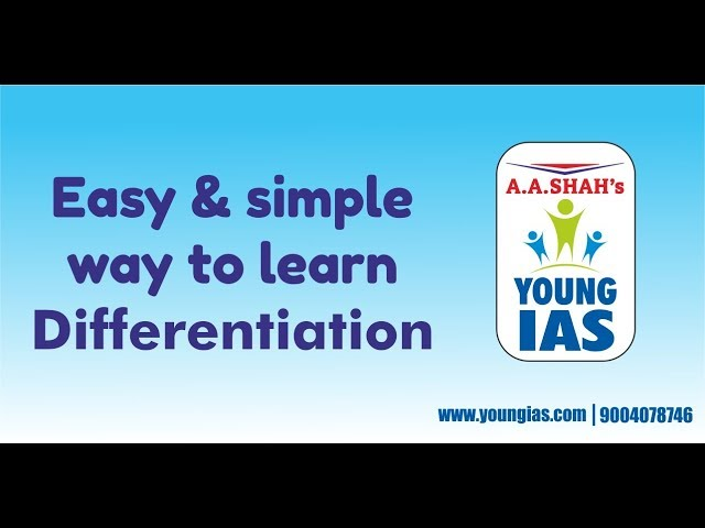 Easy & Simple way to learn Differentiation | maths for IX to XII, JEE , NDA,