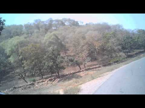 Allahabad to Chitrakuta ride : kamadgiri and chitrakuta ghat : during Maha kumbh Ride 2013