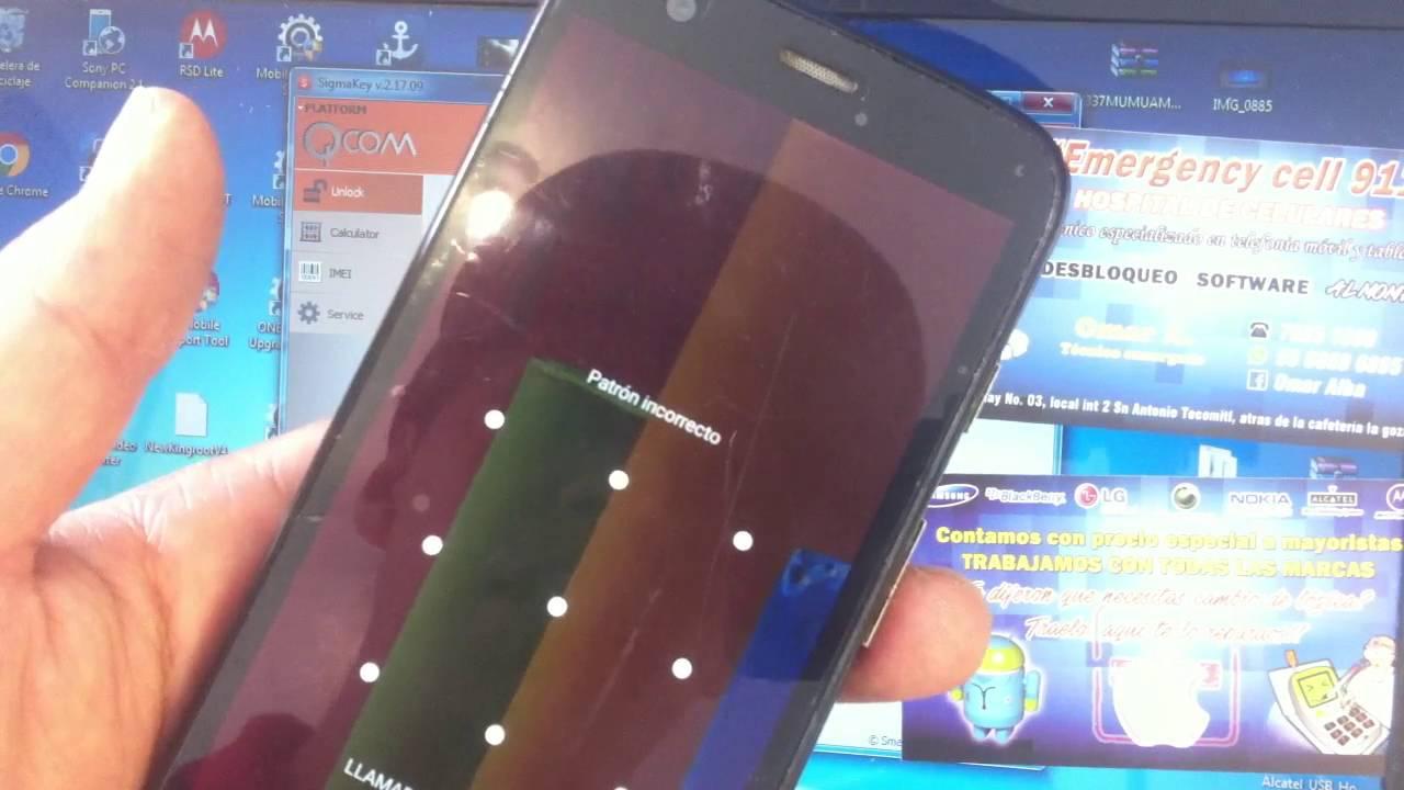 Unlock Liberacion Moto G XT1032 sin root con sigmakey