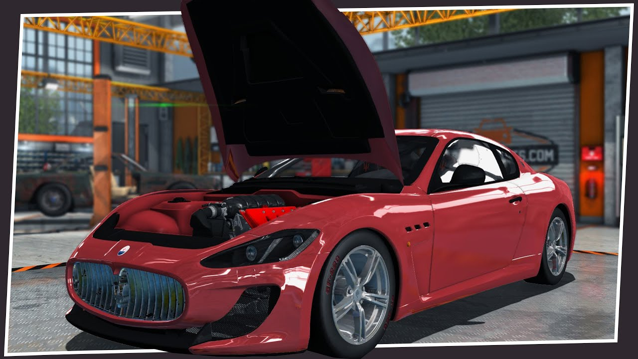 Maserati Granturismo Mc >> MASERATI GRANTURISMO MC STRADALE BUILD / TUNING! - YouTube