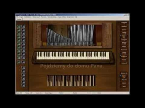Psalm responsoryjny - melodia lednicka, Alleluja - Uroczystość Chrystusa Króla