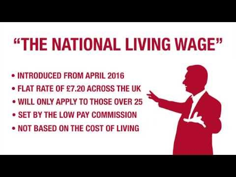 The Living Wage Vs 'The National Living Wage'