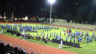 Walnut High School Blue Thunder Marching Band 2015