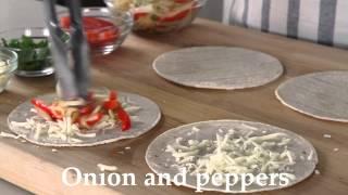 Top Dinner Recipe! Fajita-style Quesadillas