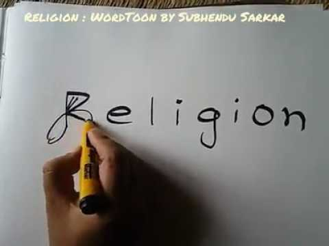 All Religions are equal @ superb religious drawing