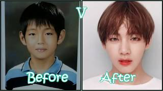 BTS - Before and after