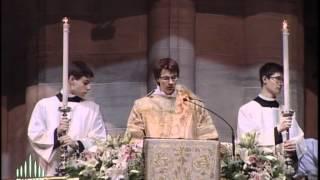 Pasqua Easter 2012 Duomo Milano - Ambrosian Exultet Preconio pasquale ambrosiano in latino