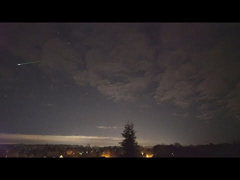 Geminiden 2018 - Geminid Meteor Shower - over 50 Meteors on video