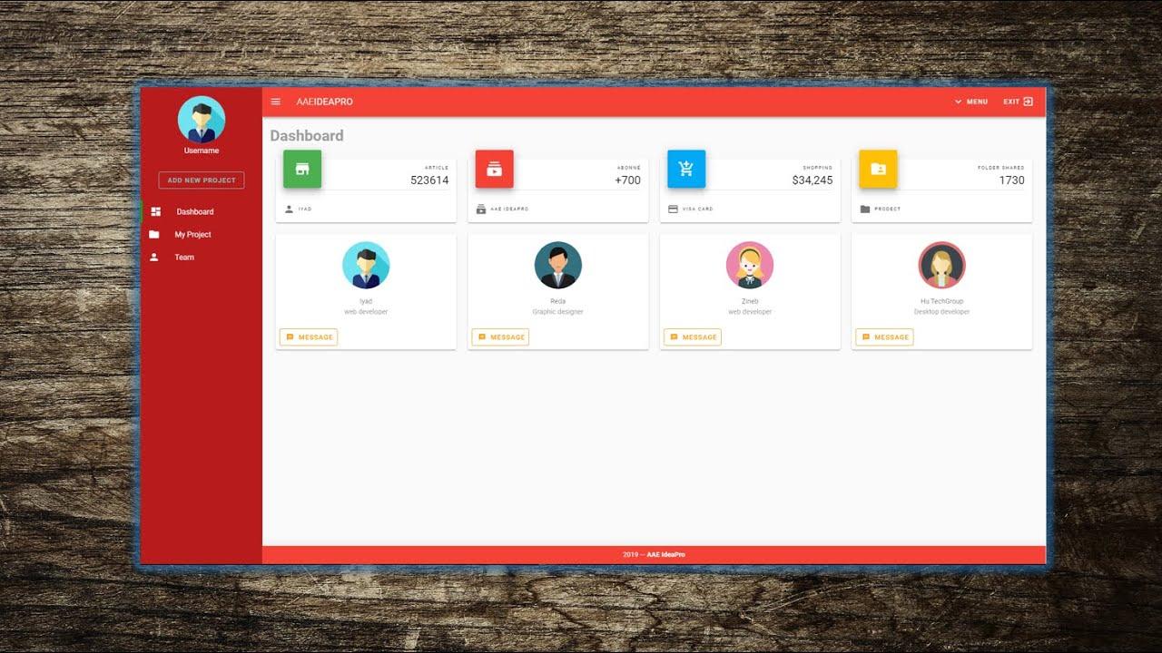 Vuetify Vuejs Ui Design Dashboard Modern Web Design Material Design Icons Youtube