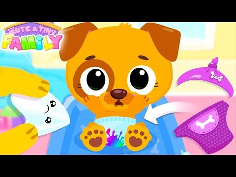 Fun Baby Care - Cute & Tiny Superhero - Baby Care Learn Colors, Family Travel, Fun Cooking Kids Game