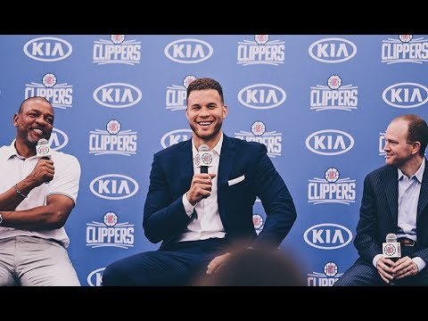 Press Conference: LA Clippers Welcome Back Blake Griffin