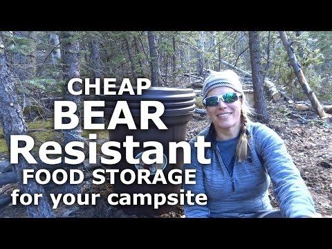 Bearicuda Basic Bear Resistant food storage- Our Journey :: Episode #27