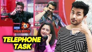 Bigg Boss 13   Telephone Nomination Task   Kaun Hoga Nominate?   BB 13