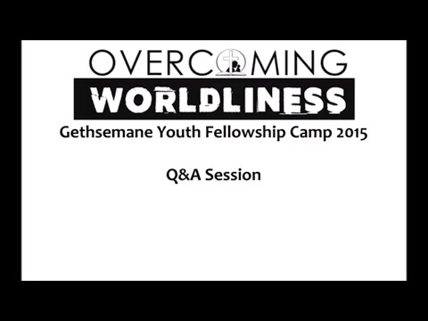 Question & Answer (7b/10) - Gethsemane Youth Fellowship Camp 2015