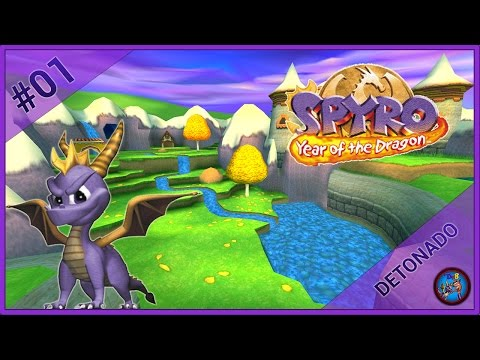 Spyro 3: Year of the Dragon #01 | Sunrise Spring e Sheila's Alp