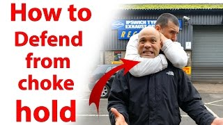 How to get out of a Choke Hold | Street fighting Wing Chun martial ...
