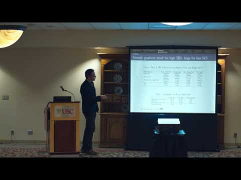 Conference on Genetics and Social Science: Titus Galama
